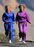 Even a few bouts of moderate exercise each week can cut a middle-aged woman's odds for coronary heart disease