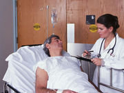 For patients hospitalized with acute myocardial infarction (AMI)