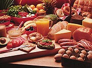 A healthy diet might reduce the risk of developing chronic obstructive pulmonary disease
