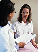 For adult patients with vulvar lichen sclerosus