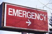 Fewer than half of all emergency department visits occur at the emergency department closest to a patient's home