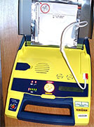 Automated external defibrillators installed and ready for use in many public spaces can save lives when needed