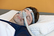 Patients with both atrial fibrillation and obstructive sleep apnea are less likely to have a recurrence of atrial fibrillation if they use continuous positive airway pressure therapy