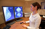 Some performance indicators for mammography test sets are associated with aspects of clinical audit parameters