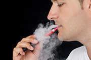 E-cigarette vapor can contain cancer-causing formaldehyde at levels up to 15 times higher than regular cigarettes