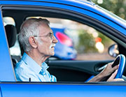 Many people who've had hip replacement surgery might safely be able to drive as soon as two weeks after the procedure