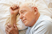 Men with obstructive sleep apnea appear to have a higher risk of depression