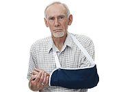 When an older patient breaks the upper arm