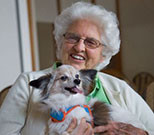 People undergoing chemotherapy and radiation for cancer may get an emotional lift from man's best friend