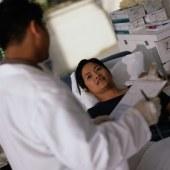 Upon hospital admission