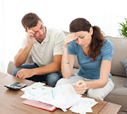 Financial worries served as a significant source of stress for 64 percent of adults in 2014