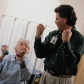 Intensive physical therapy helps restore arm function in people who have survived a severe stroke
