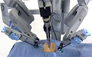 Robotic surgery is safe and feasible for the surgical management of morbidly obese patients with endometrial cancer