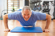 It's not clear whether diet and exercise can prevent muscle loss as people age