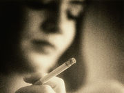 The rate of smoking during pregnancy is about 8.4 percent