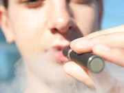 Most flavored electronic cigarettes contain benzaldehyde