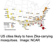 Some major U.S. cities