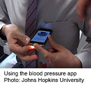 A popular smartphone app that measures blood pressure is inaccurate