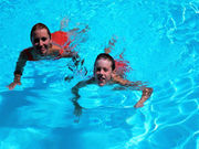 The disinfectants used to keep pools clean can create dangerous disinfection byproducts when combined with sweat