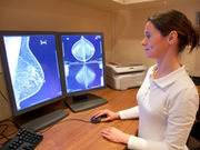 Radiologists vary widely on how often they define mammography patients' breasts as dense