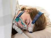 While treatment with continuous positive airway pressure reduces sleep apnea symptoms