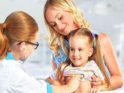 The capitated payment breakeven rate has been calculated for a mid-size pediatric practice