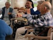 Nursing home use increases with increasing cognitive impairment category