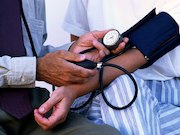 Compared with clinic blood-pressure measurement