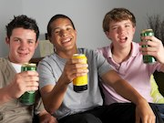 The number of drinks consumed in high school students' binge drinking episodes predicts other health risk behaviors