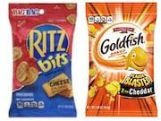 Ritz and Goldfish crackers