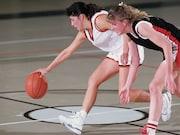 Among female athletes