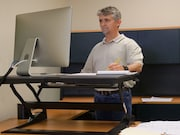 A multicomponent intervention (Stand More At [SMArT] Work) can reduce sitting time over the short