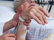 The majority of nurses have an unfavorable opinion of their hospital's end-of-life care