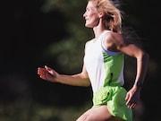 Running a marathon can increase cardiac strain in amateur runners