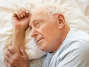 Older people who have less slow wave sleep have higher levels of the brain protein tau