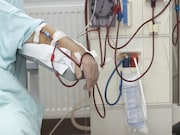For hyperphosphatemic patients with chronic kidney disease receiving maintenance hemodialysis