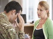 Among veterans with posttraumatic stress disorder
