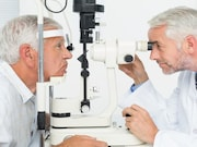 Eye disorders frequently affect adults aged 45 years and older with diagnosed diabetes