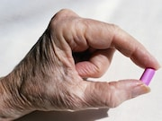 Most reports of swallowing problems caused by dietary supplements involve seniors taking multivitamins or calcium supplements