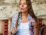 Warning letters about 44 flavored e-liquid and hookah tobacco products being sold illegally in the United States have been sent to four companies