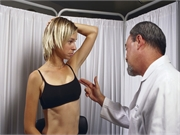 For assessment of breast aesthetics and symmetry