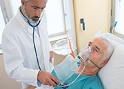 Patients admitted to a New York City hospital with COVID-19 faced major morbidity and mortality