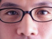 The proportion of inpatients with COVID-19 who wear eyeglasses for extended daily periods is lower than in the general population