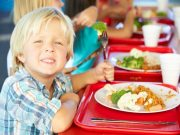 The flexible free school meals program that provided food to children during the summer will be extended at least through the fall
