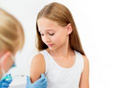 Routine vaccination with a quadrivalent meningococcal conjugate vaccine is recommended for adolescents aged 11 to 12 years with a booster at age 16 years