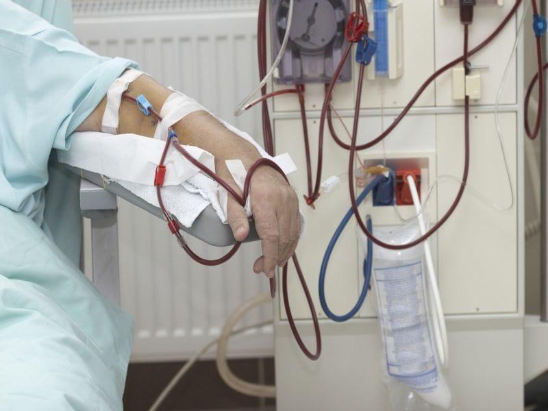 For patients receiving hemodialysis
